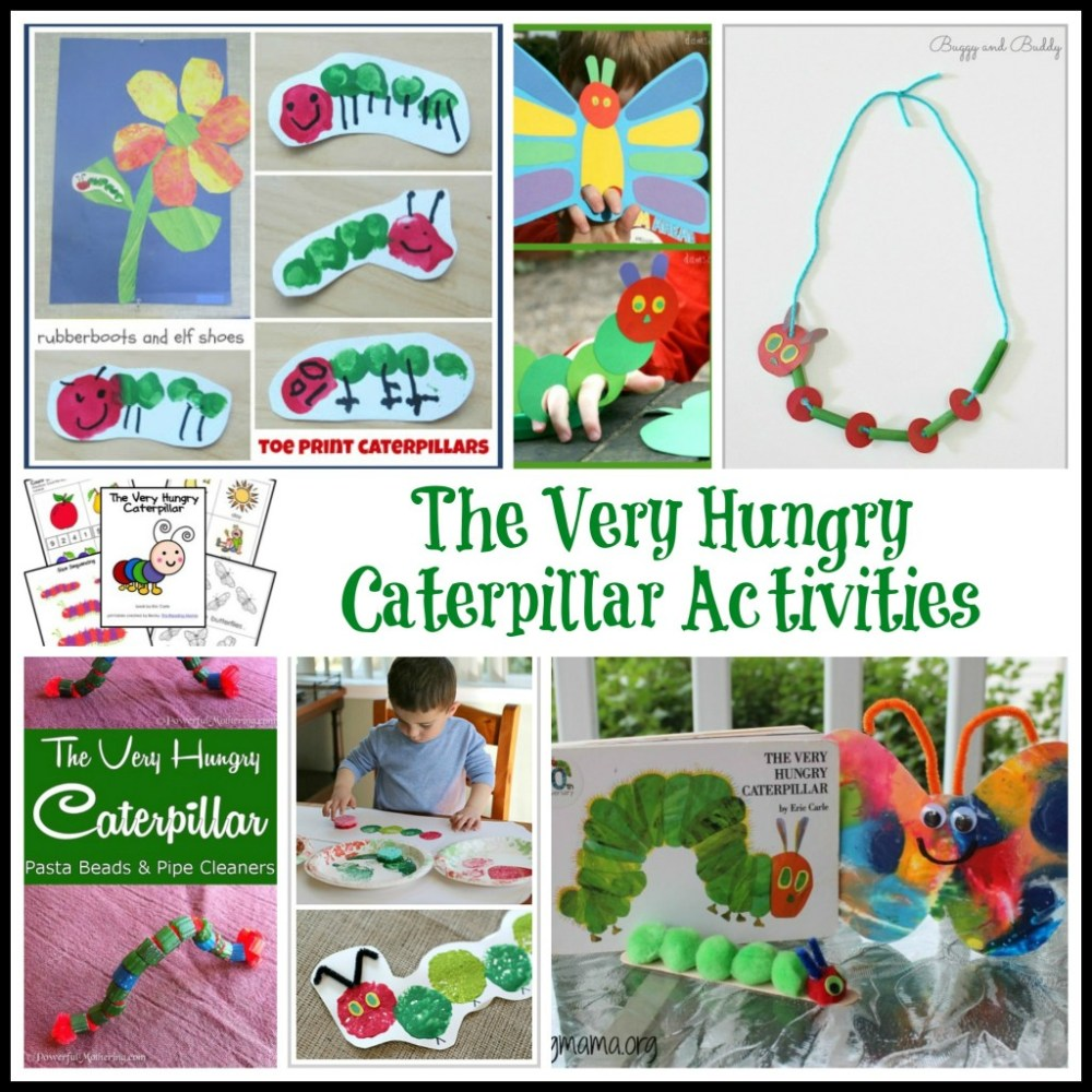 medium resolution of The Ultimate List of Eric Carle Activities