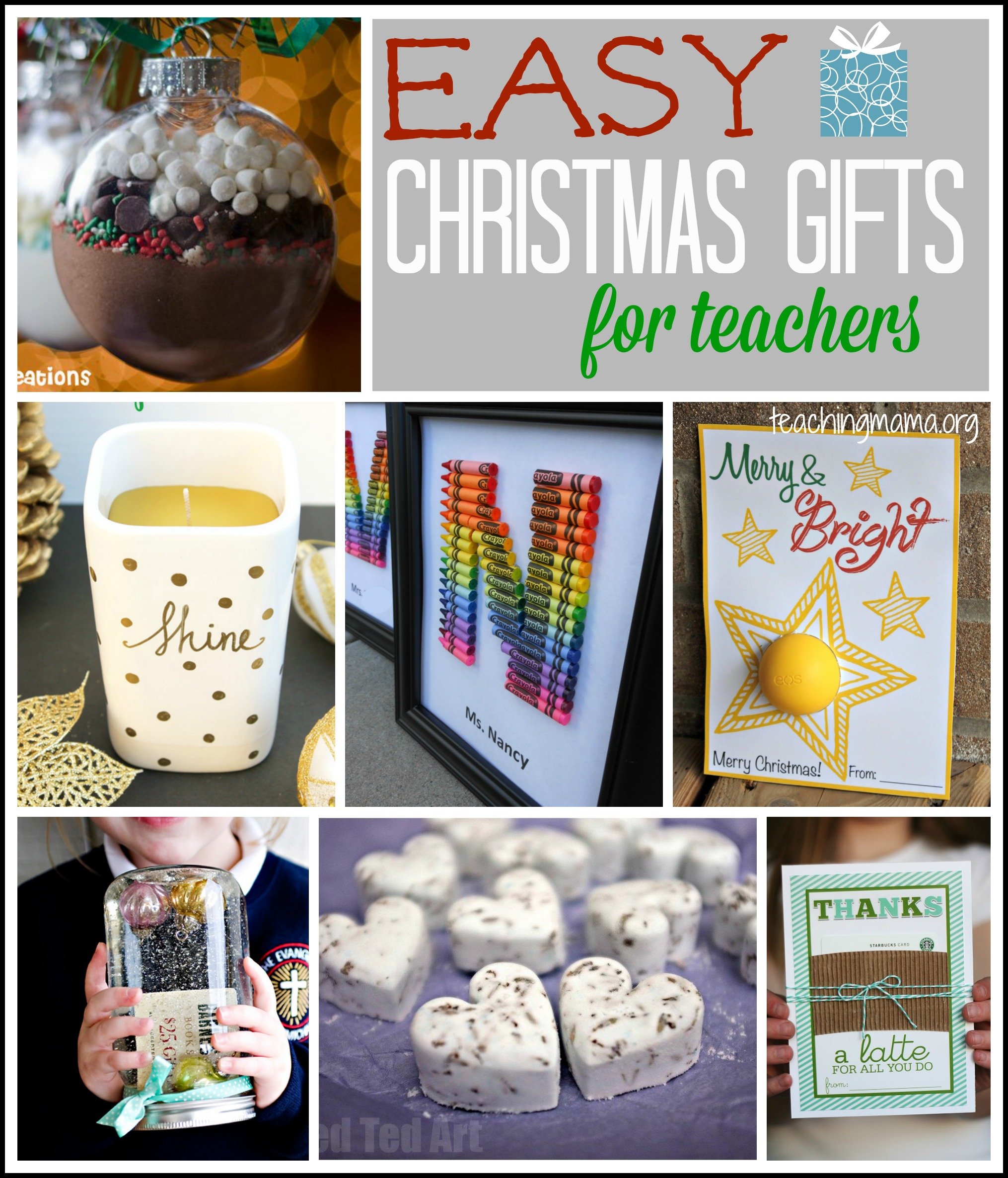 easy christmas gifts for
