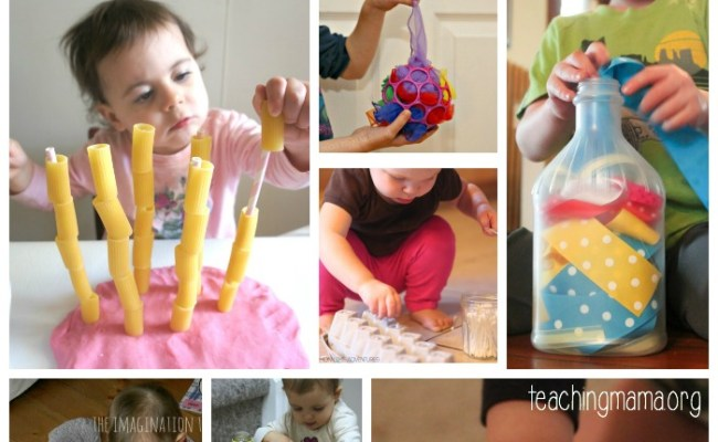 15 Fine Motor Activities For Young Toddlers