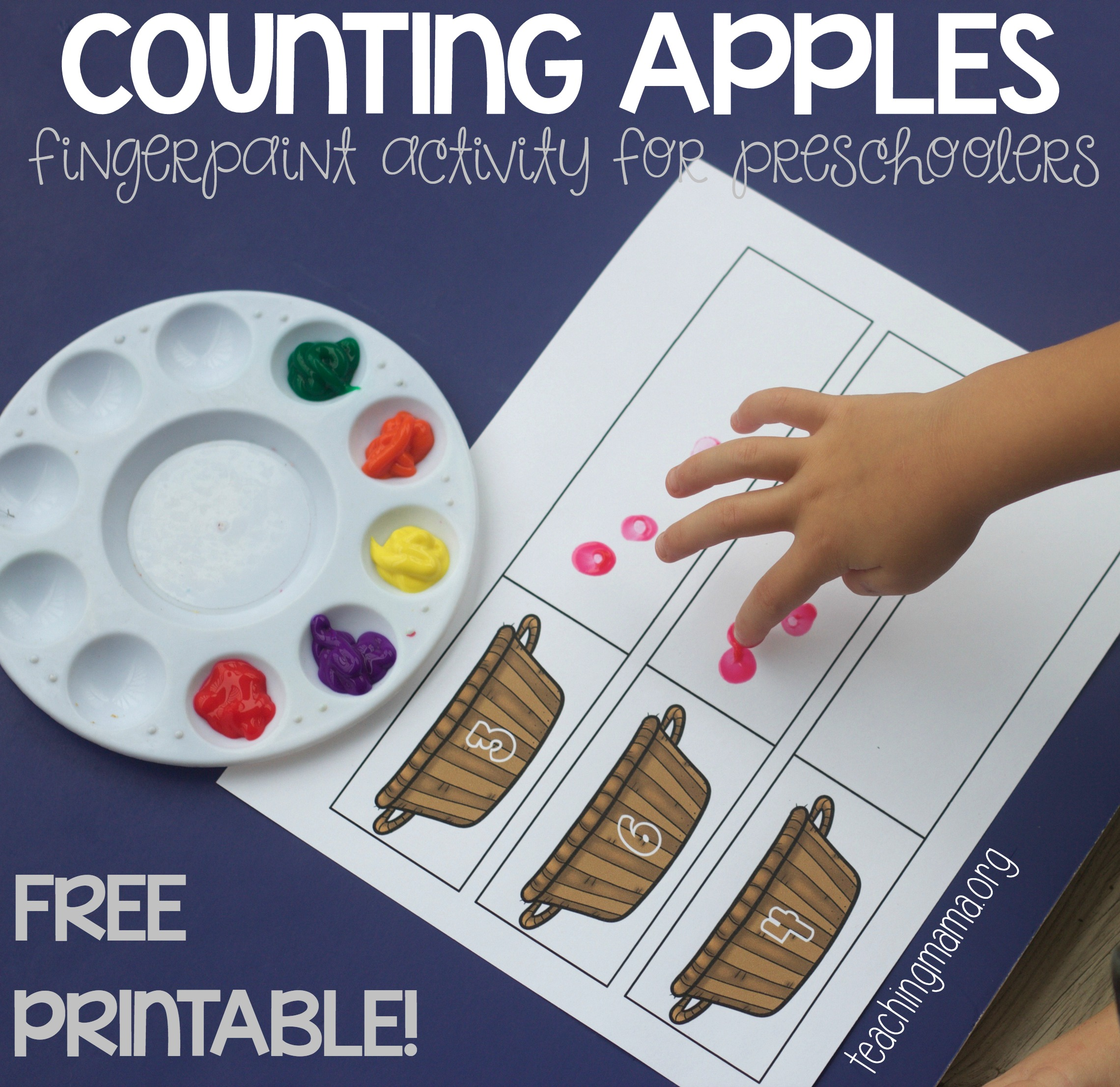 Counting Apples Activity