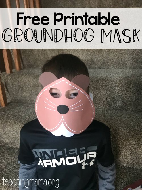 small resolution of Groundhog Day Activities - Teaching Mama