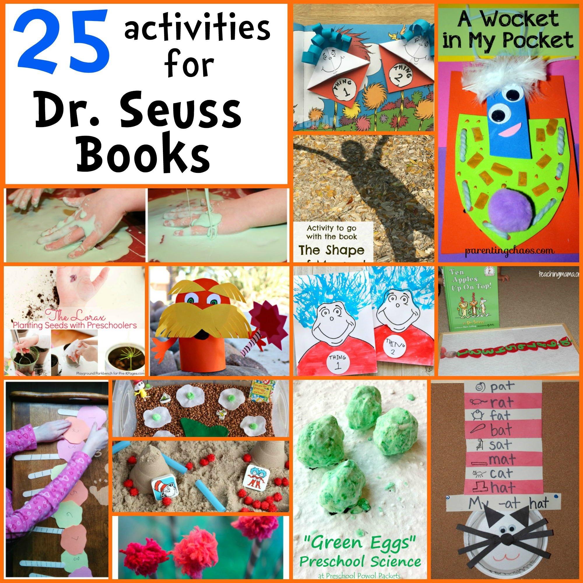 hight resolution of 25 Dr. Seuss Activities