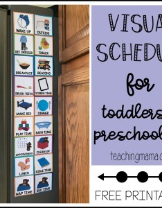 also visual schedule for toddlers rh teachingmama