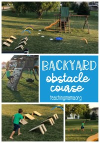 Backyard Obstacle Course | Outdoor Goods