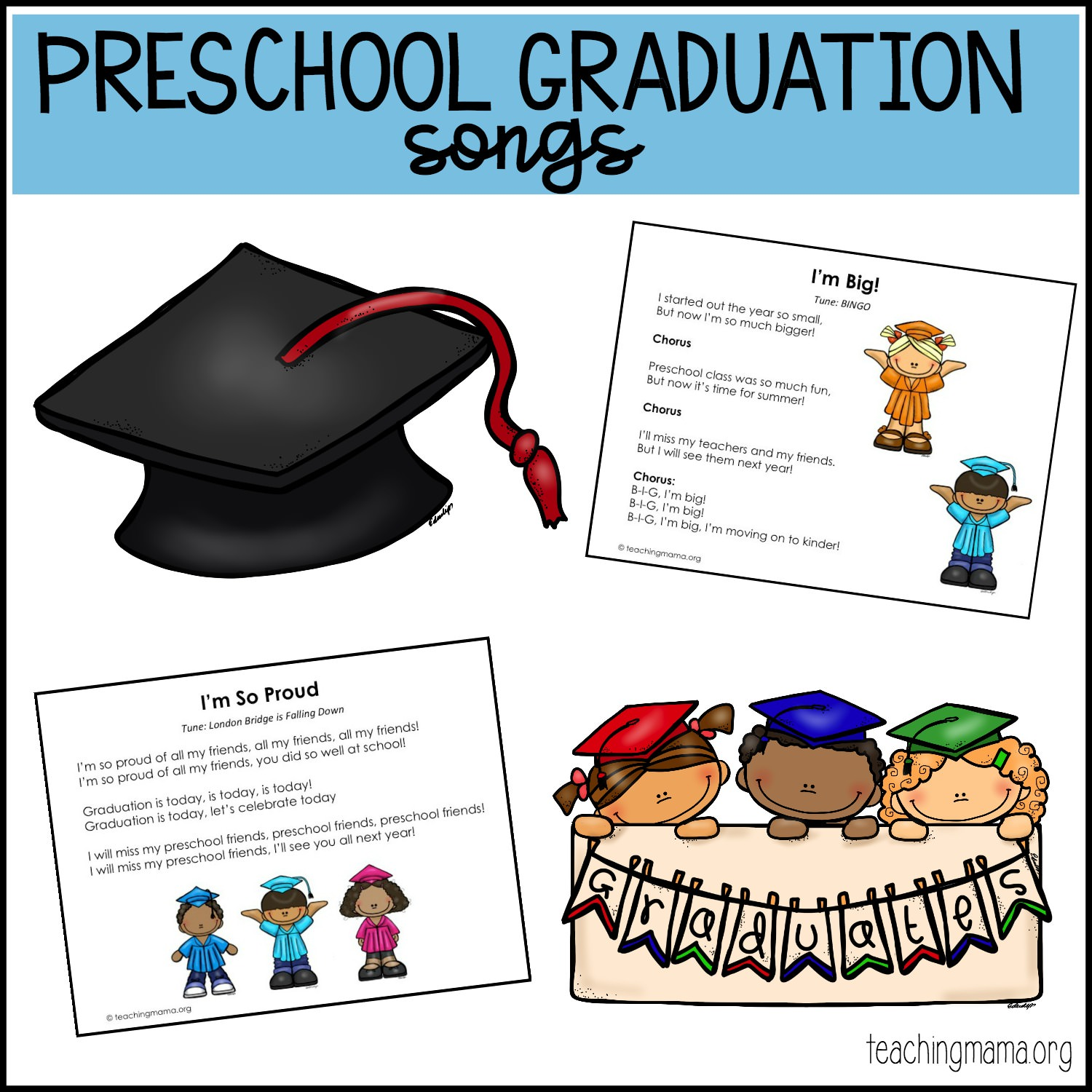 preschool graduation songs free