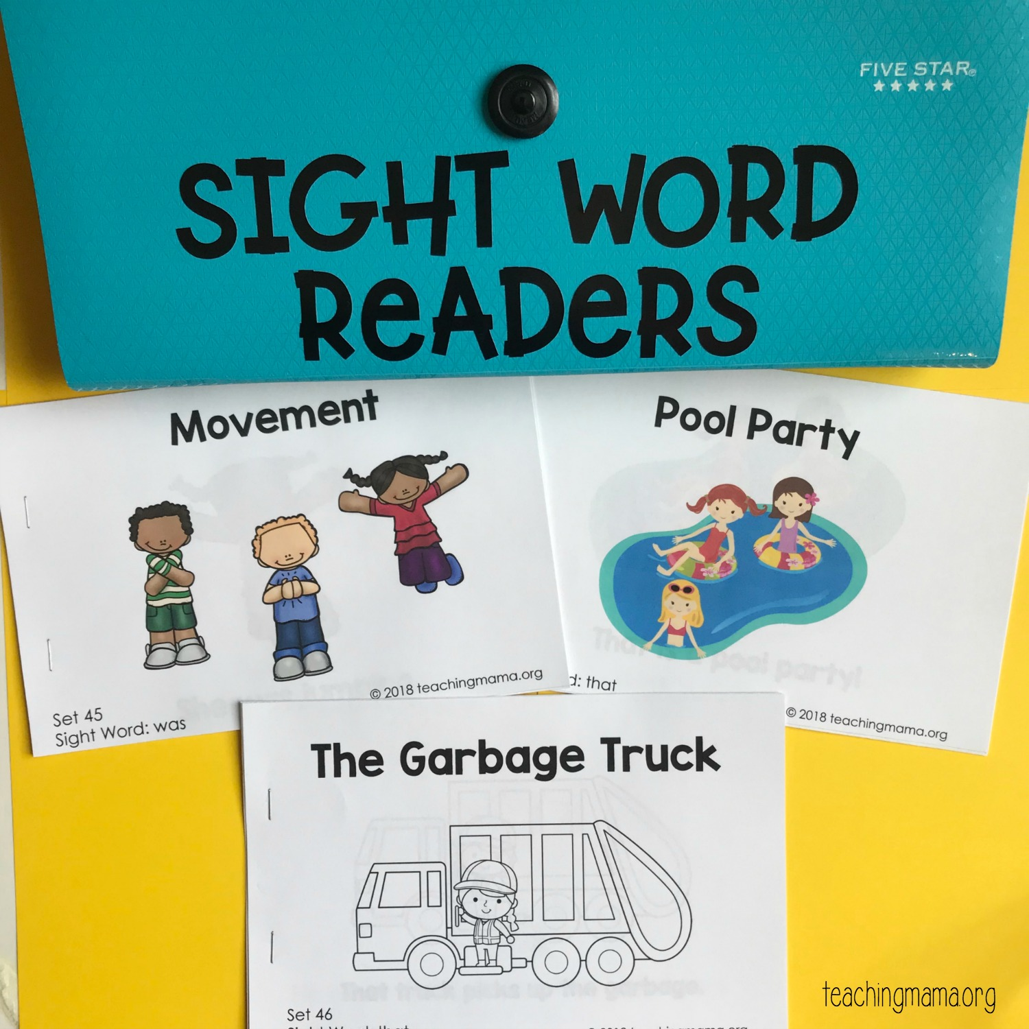 Sight Word Readers For The Word She