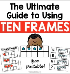 The Ultimate Guide to Using Ten Frames [ 1300 x 1300 Pixel ]