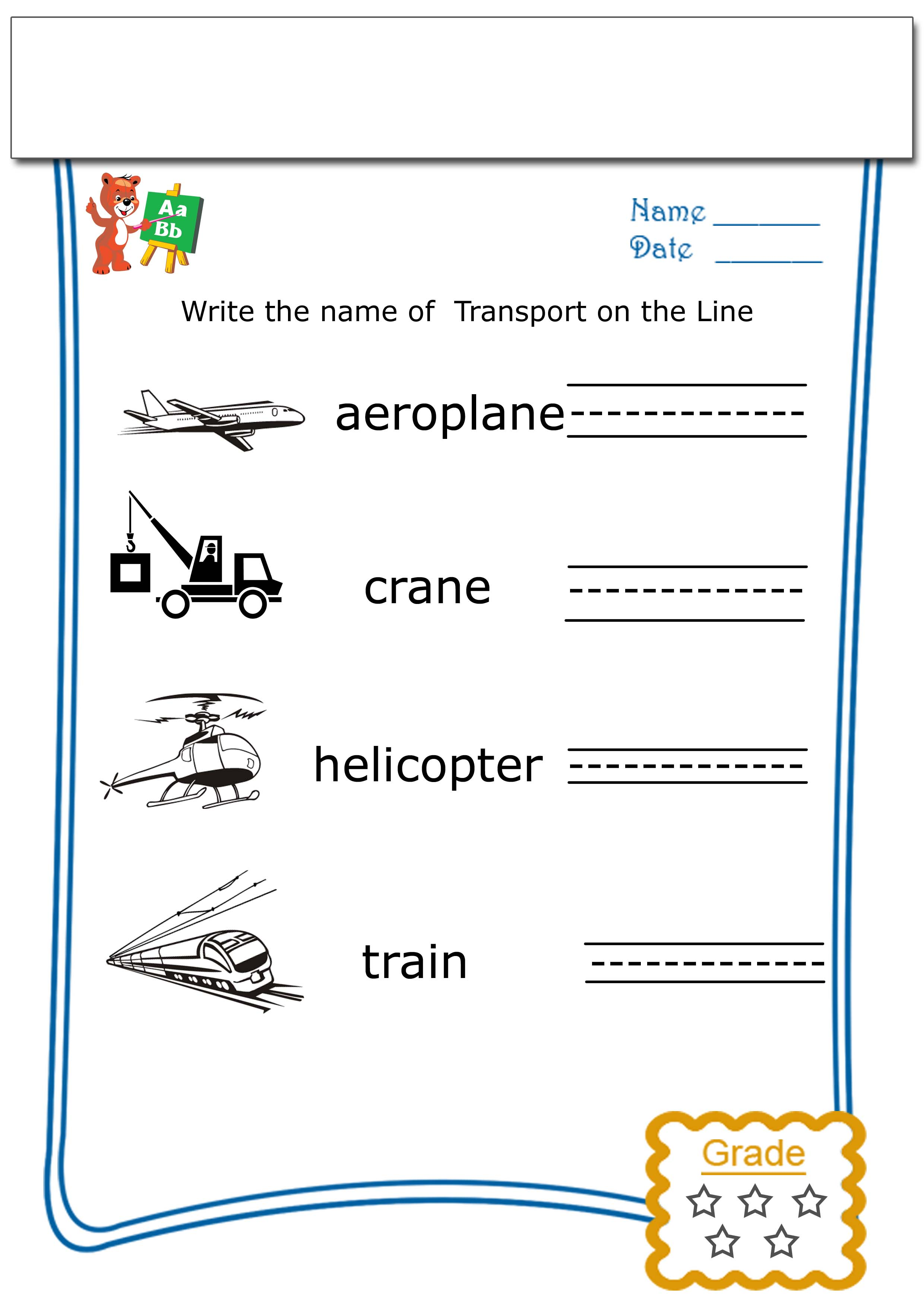 Fun Worksheets For Kids