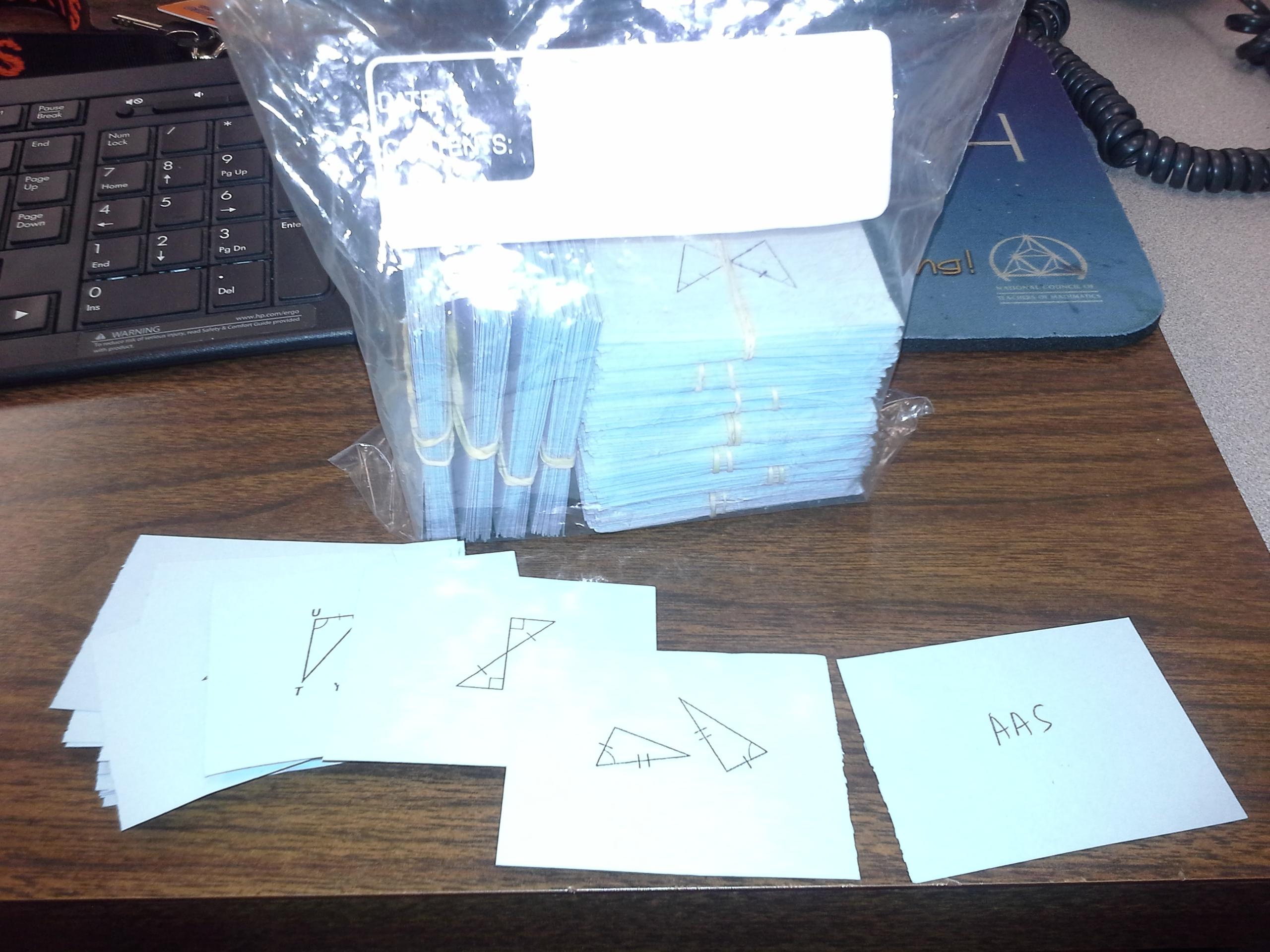 Triangle Congruence Flashcards