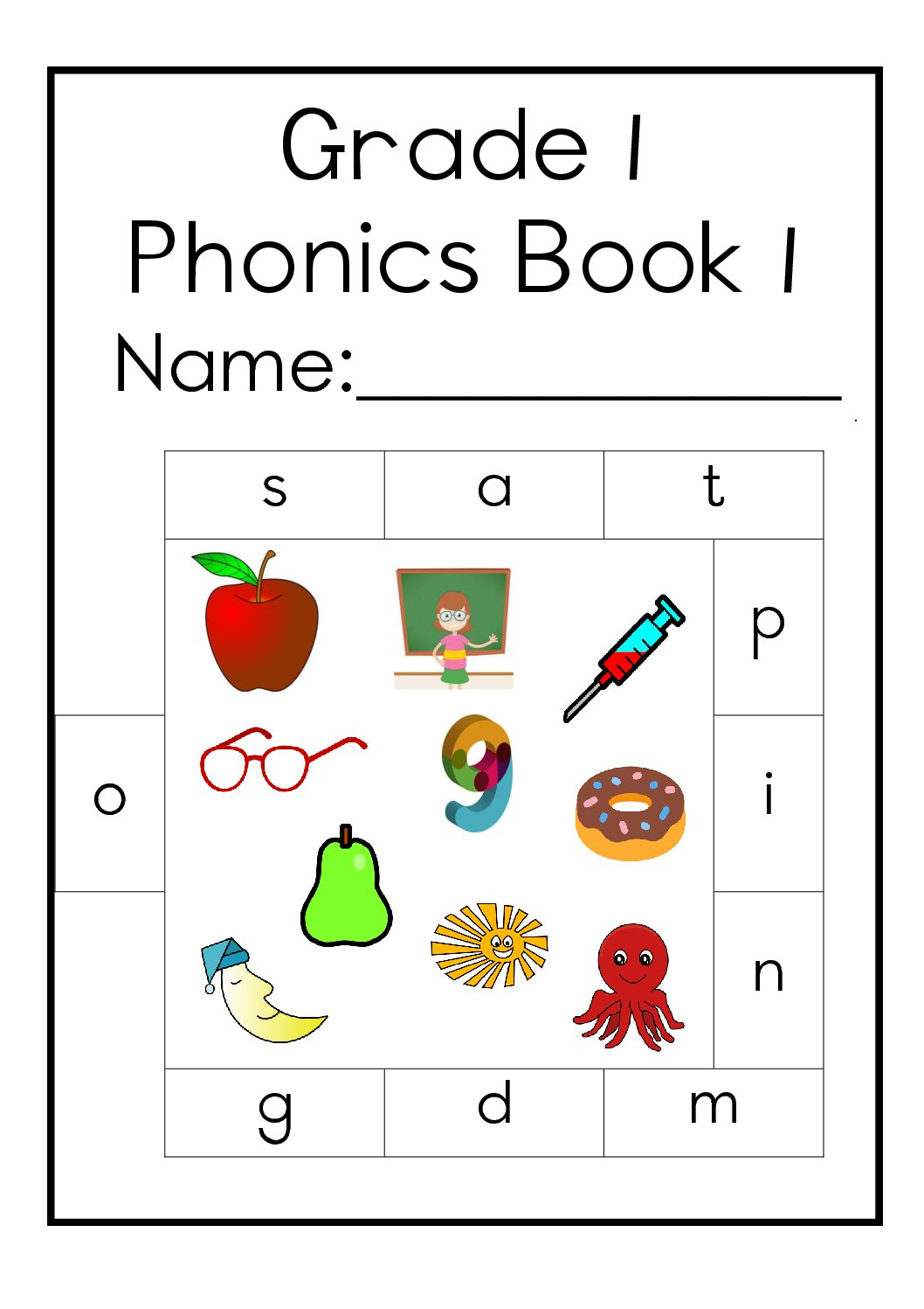 Grade 1 English Home Language Phonics Book 1 Teacha