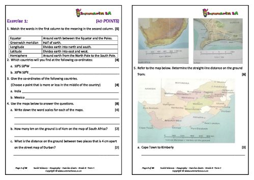 small resolution of Grade 6 – Social Sciences (Geography \u0026 History) – Term 1 (SS) - Teacha!
