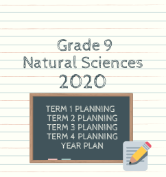 Grade 9 Natural Sciences Planning 2020 (term and year plan) - Teacha! [ 2245 x 1587 Pixel ]