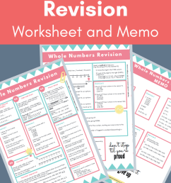 Whole Numbers Revision (Worksheet and Memo) (Grade 4-6) - Teacha! [ 1500 x 1000 Pixel ]