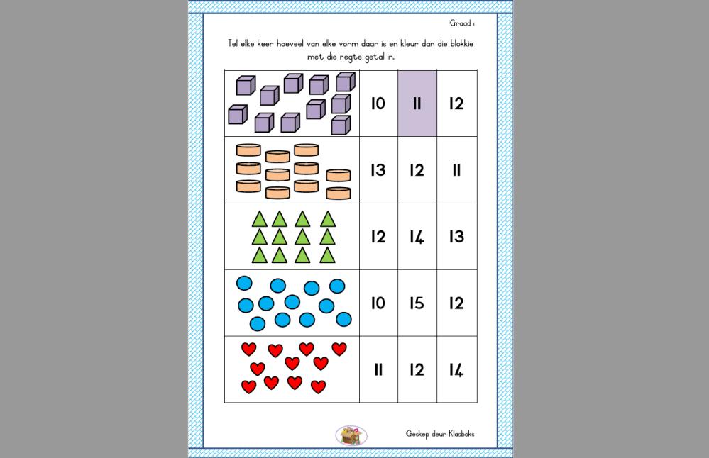 medium resolution of Mathematics Free Worksheet Grade 1 - Teacha!