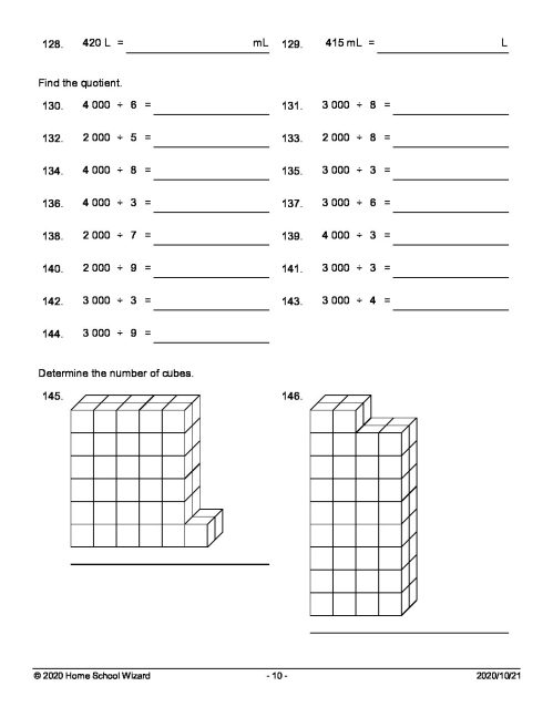 small resolution of Grade 4 Term 4 Mathematics Worksheet 4 (Q\u0026A) - Teacha!