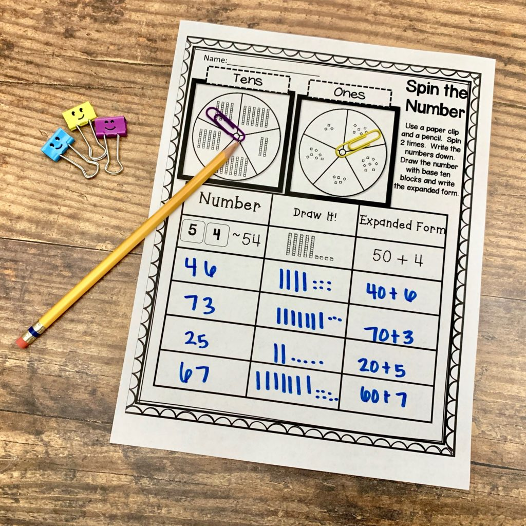 hight resolution of Engaging Ways to Teach Place Value in the Classroom