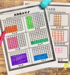 How to Teach Arrays - Teaching Second Grade [ 2415 x 2415 Pixel ]
