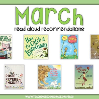 March Read-Aloud Book Recommendations!