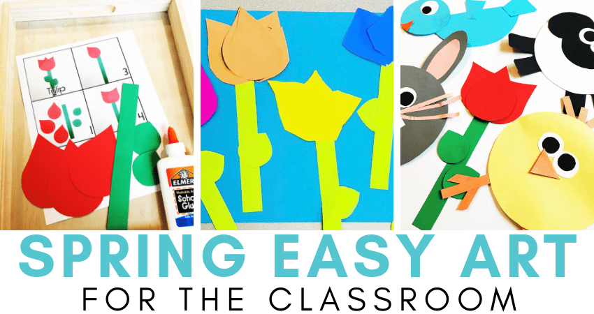 Paper art crafts for kids include paper baskets, customized calendars, and fancy envelopes. Spring Easy Art Crafts For Kids Teaching Special Thinkers