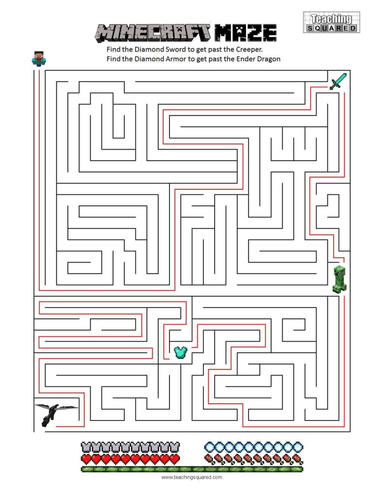 hight resolution of Mazes - Teaching Squared