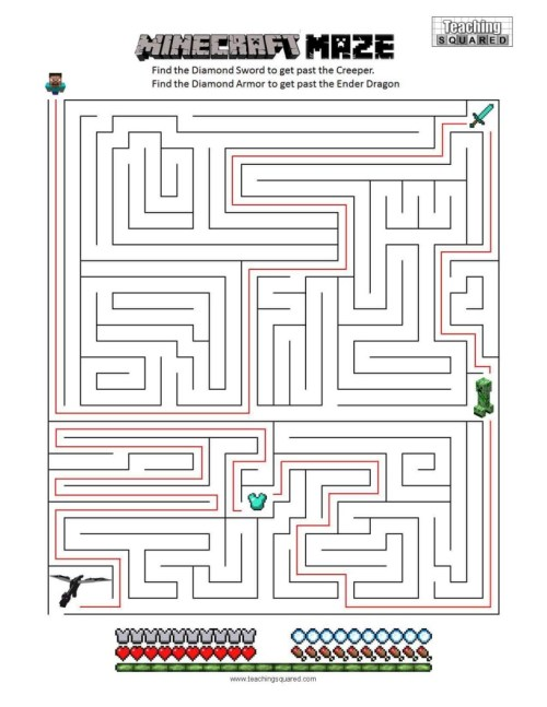 small resolution of Mazes - Teaching Squared