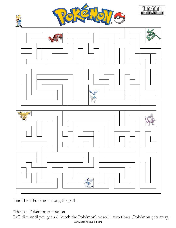 Character Mazes