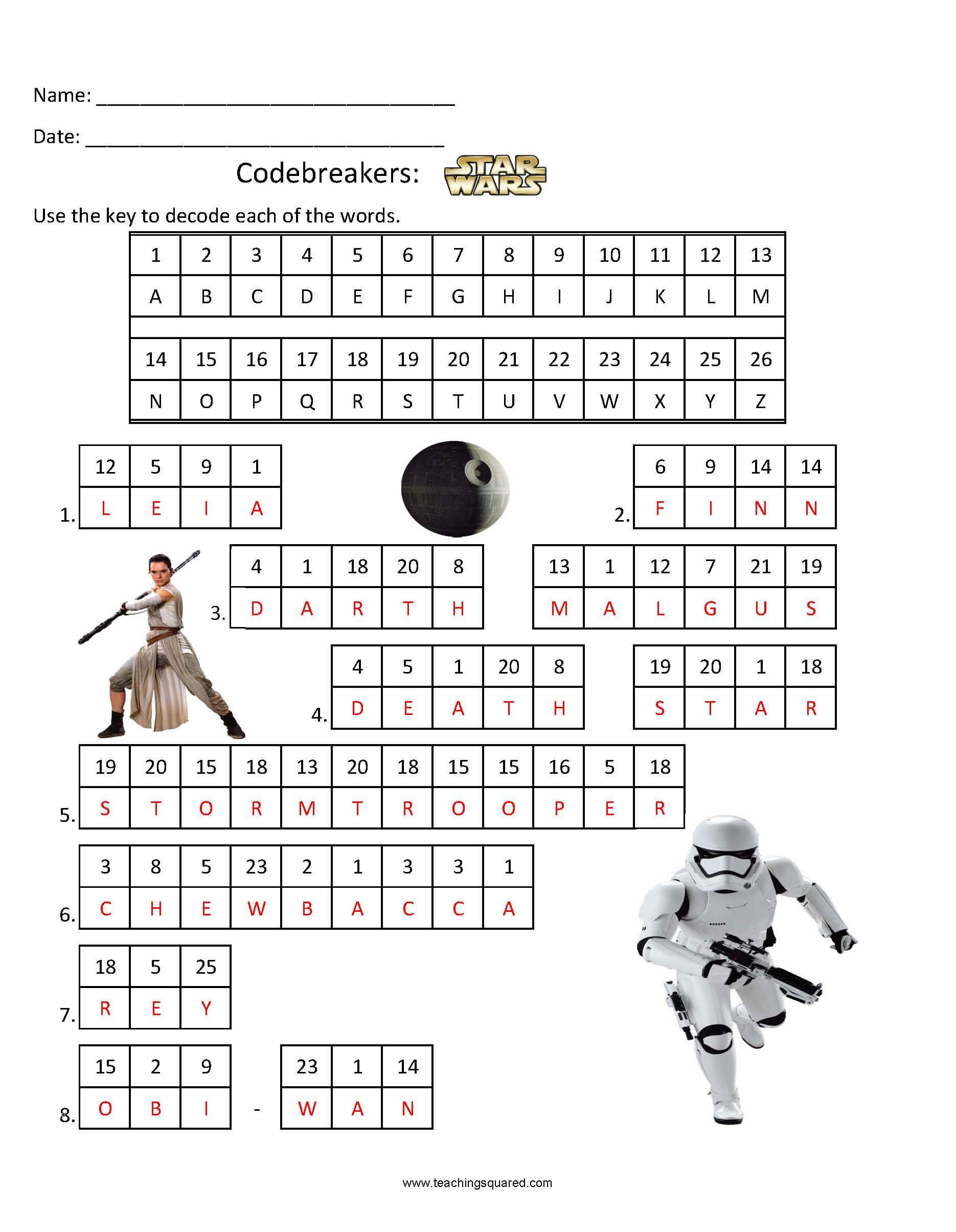 Obsessed Star Wars Crossword Puzzles Printable