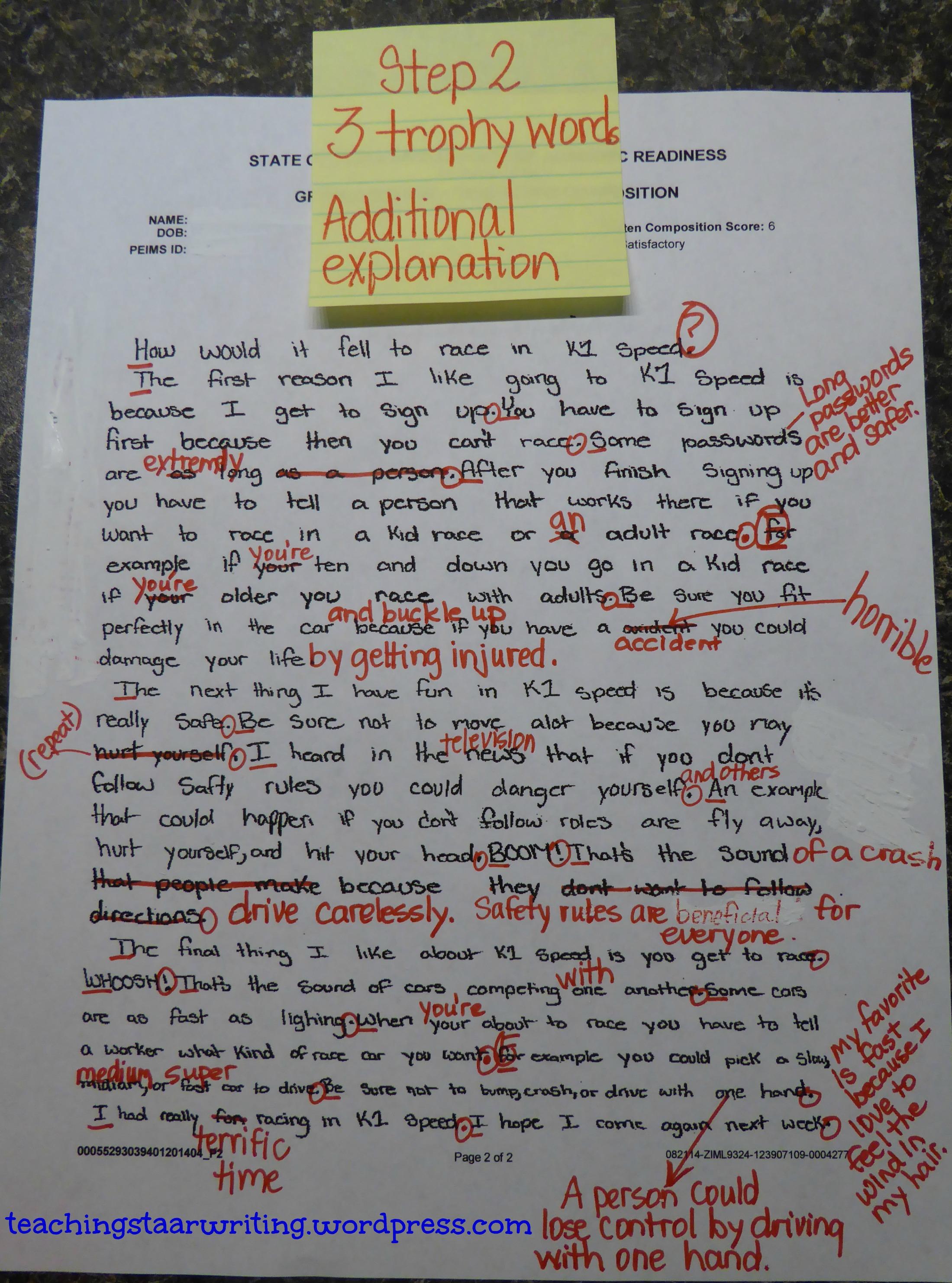 Revising And Editing The Rough Draft