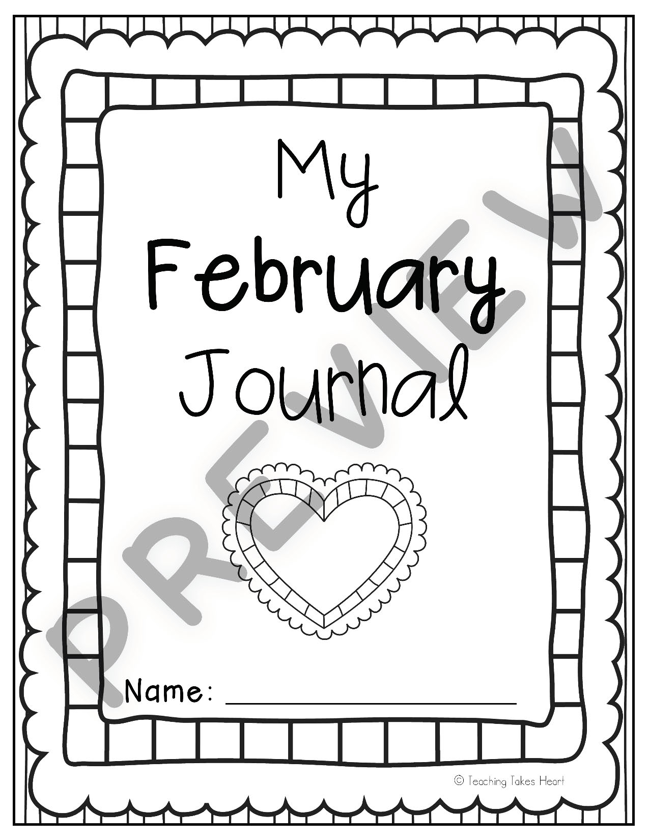Primary Writing Journal Prompts: School Year Bundle (Sept