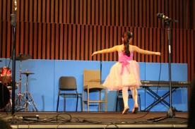 Some junior school ballet...