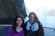 Janna and I in Milford Sound