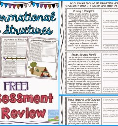 Informational Text Structures - Teaching with a Mountain View [ 1160 x 1600 Pixel ]