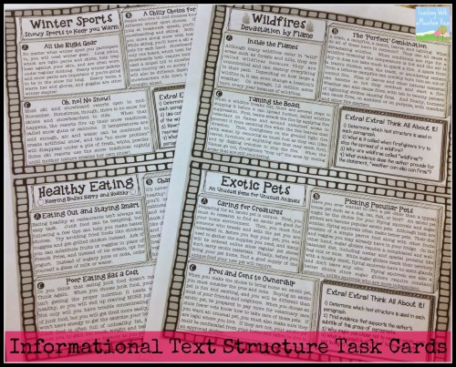 small resolution of Informational Text Structures - Teaching with a Mountain View