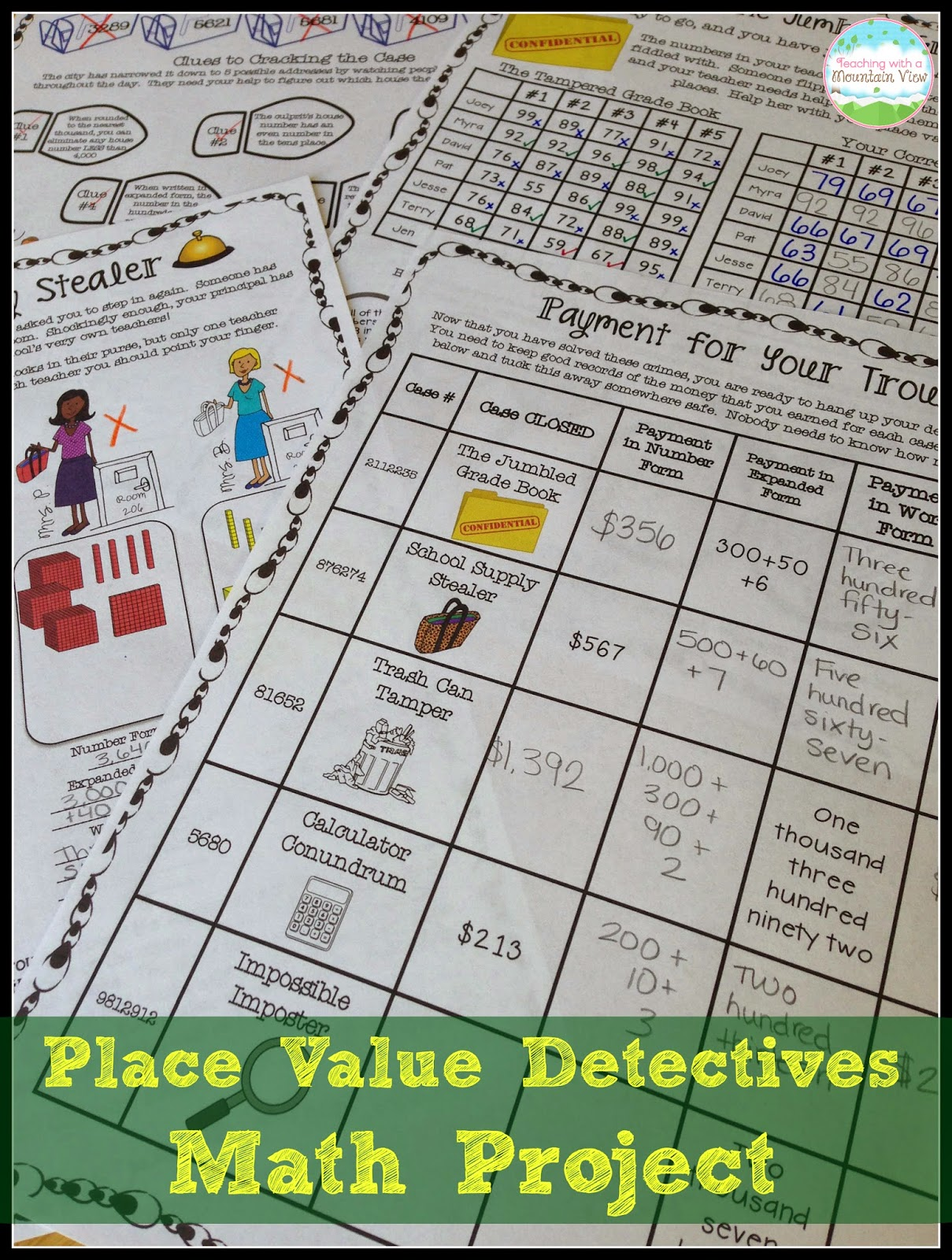 hight resolution of Teaching Place Value - Teaching with a Mountain View