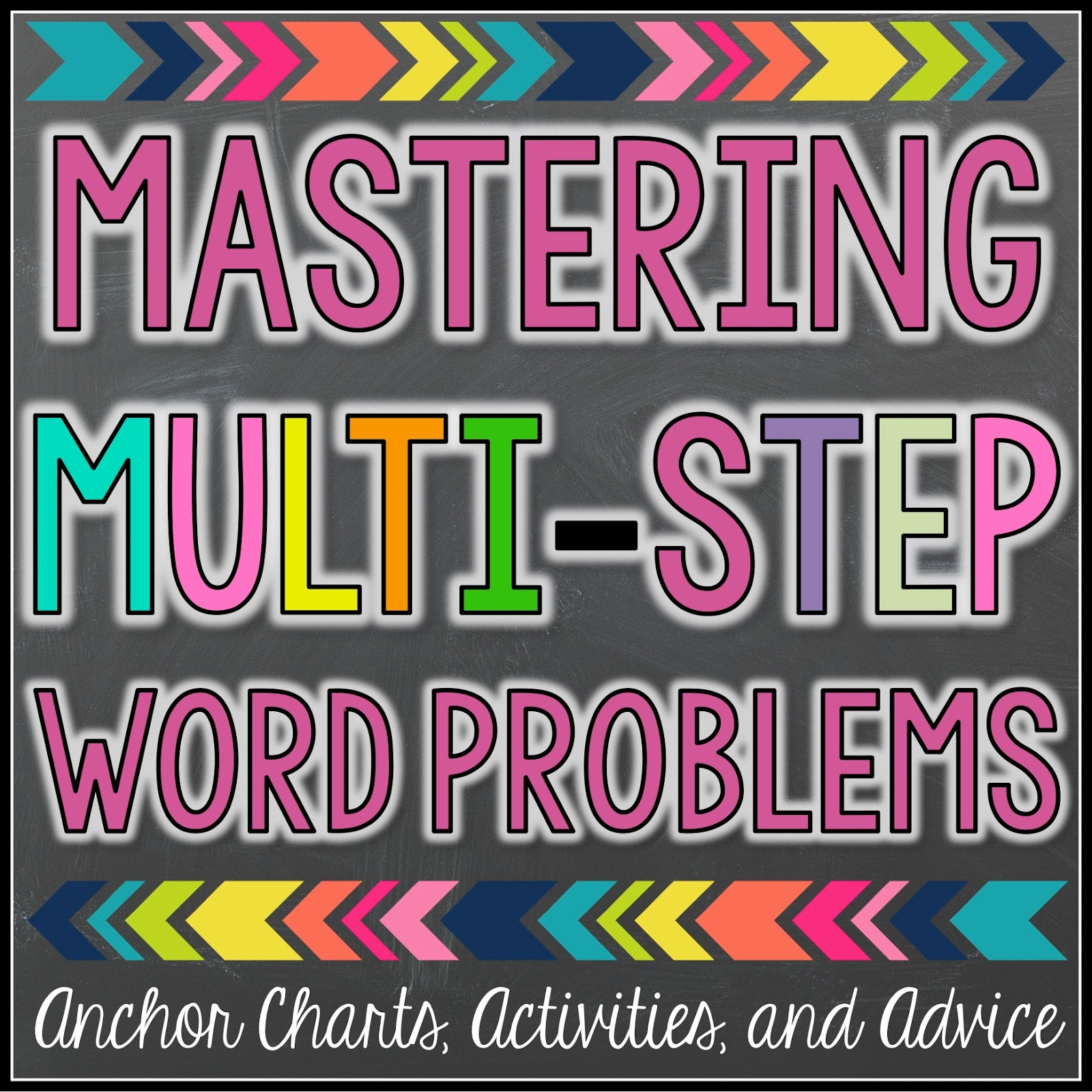hight resolution of Multi-Step Word Problems Mastery - Teaching with a Mountain View