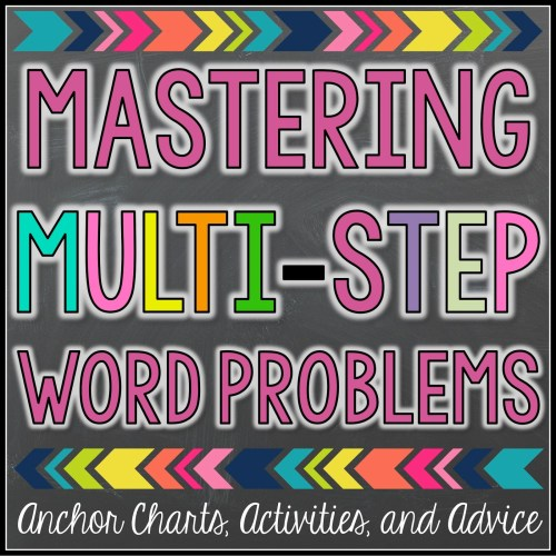small resolution of Multi-Step Word Problems Mastery - Teaching with a Mountain View