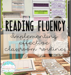 Teaching Oral Reading Fluency - Teaching with a Mountain View [ 1600 x 1436 Pixel ]