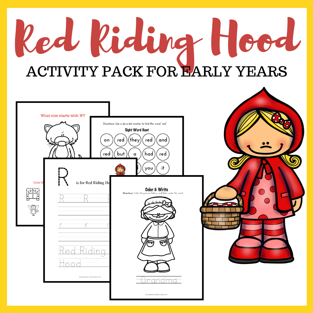 Free Little Red Riding Hood Worksheets And Activities