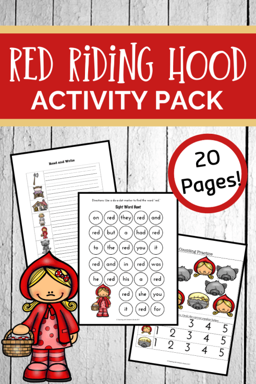 small resolution of Free Little Red Riding Hood Worksheets and Activities