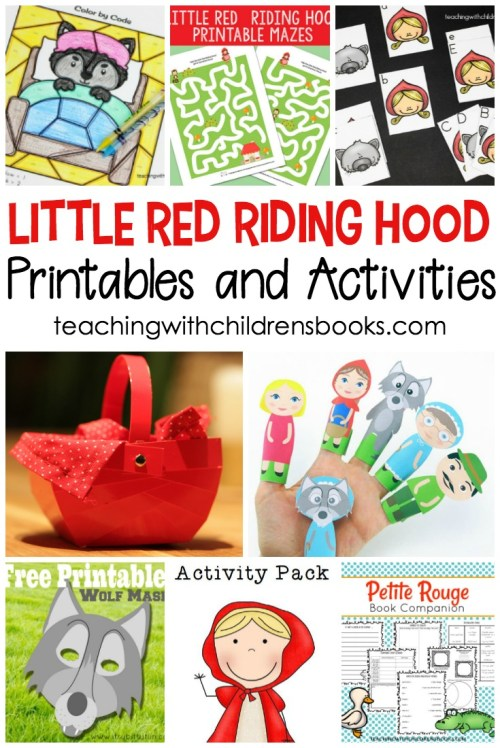 small resolution of 15 Little Red Riding Hood Story Printable Activities for Kids