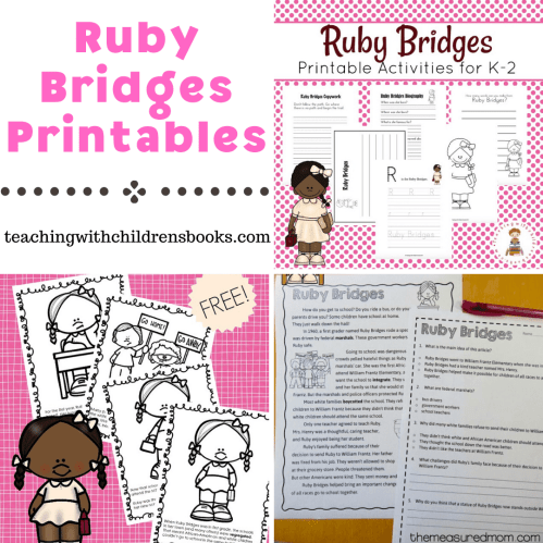 small resolution of Free Ruby Bridges Printables for Elementary Students