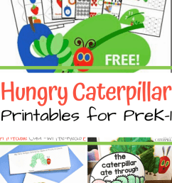 More Than 10 The Very Hungry Caterpillar Printables [ 1102 x 735 Pixel ]