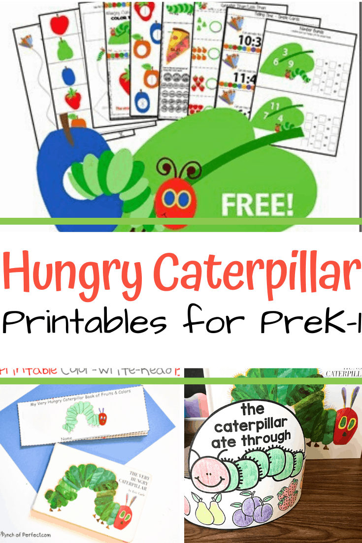 medium resolution of More Than 10 The Very Hungry Caterpillar Printables