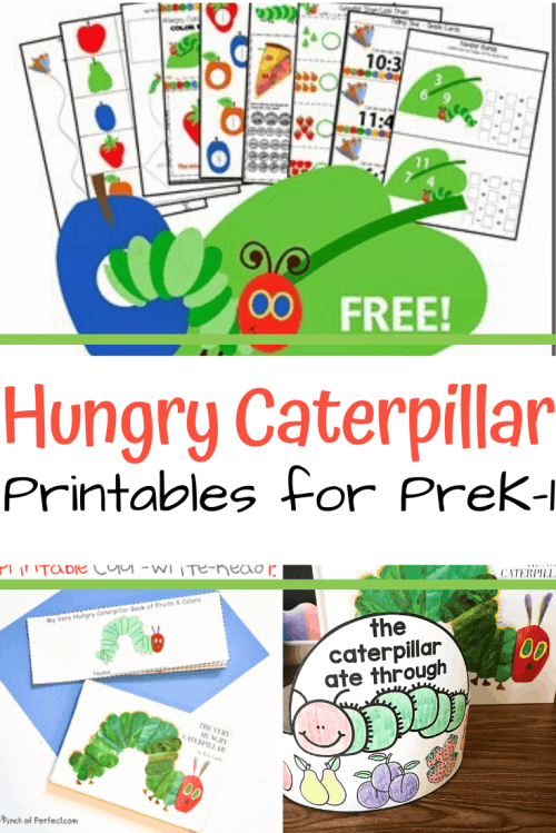 small resolution of More Than 10 The Very Hungry Caterpillar Printables