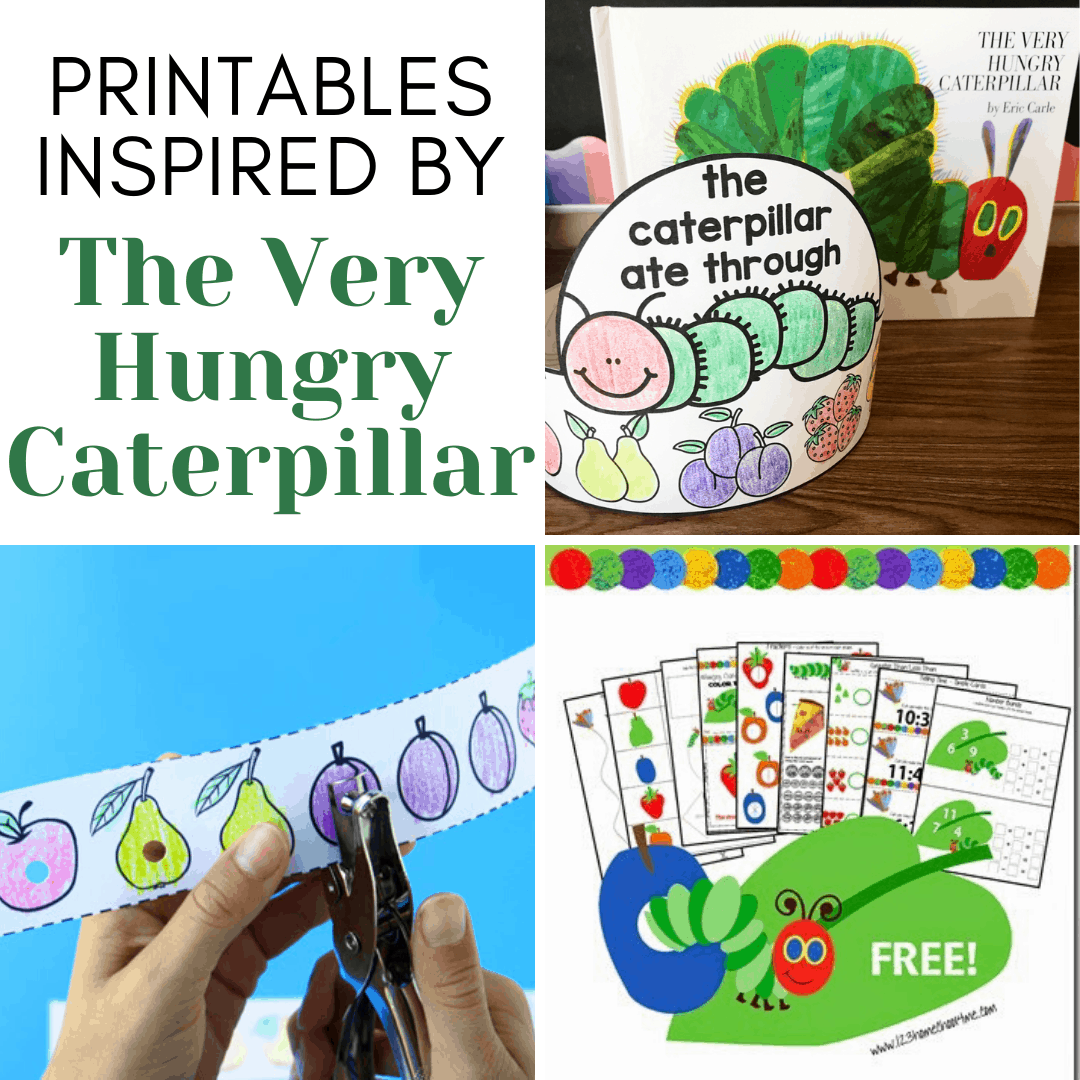 More Than 10 The Very Hungry Caterpillar Printables