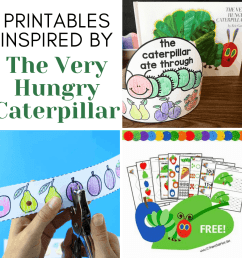 More Than 10 The Very Hungry Caterpillar Printables [ 1080 x 1080 Pixel ]