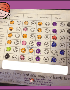 The kiddos work hard to get their smiley faces and they are in small enough increments that can be successful it isn   tied any consequence or also easy implement behavior charts teaching with haley  connor rh teachingwithhaley