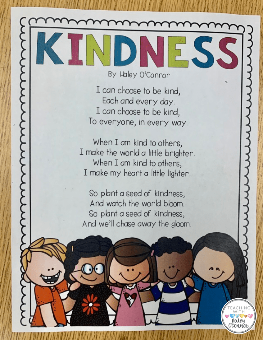 hight resolution of Kindness Lessons and Activities   Teaching With Haley O'Connor