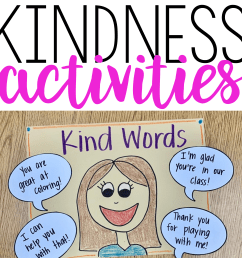 Kindness Lessons and Activities   Teaching With Haley O'Connor [ 3750 x 3750 Pixel ]