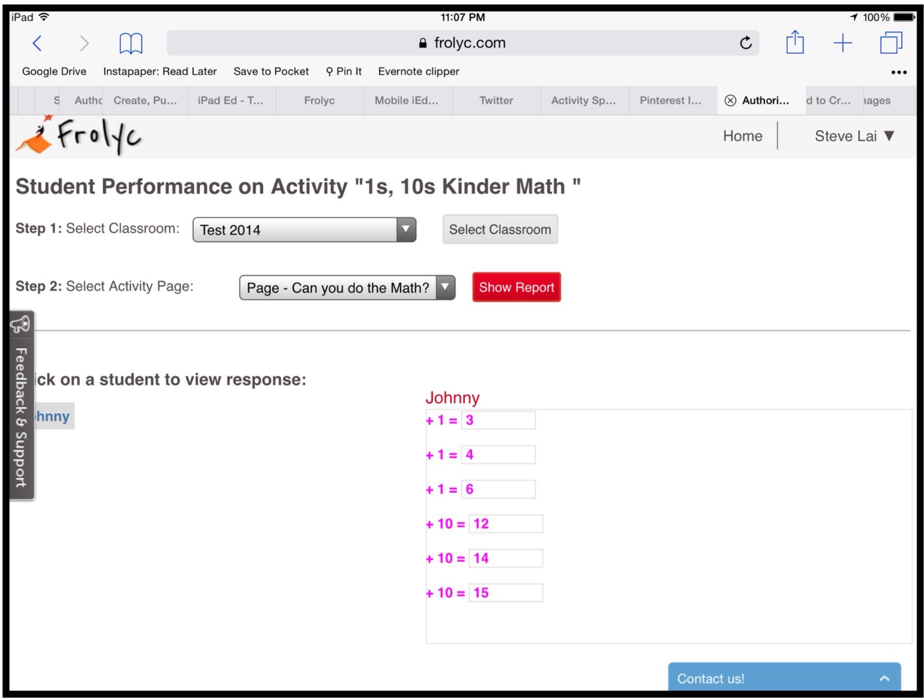 App # 54: Frolyc + Activity Spot